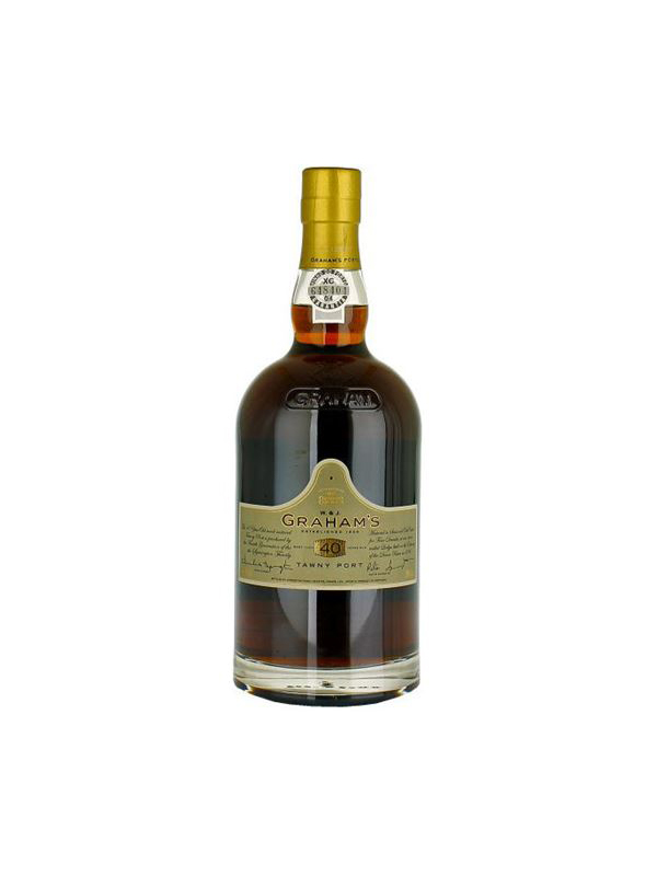 GRAHAMS PORT WINE TAWNY 40 YEARS OLD