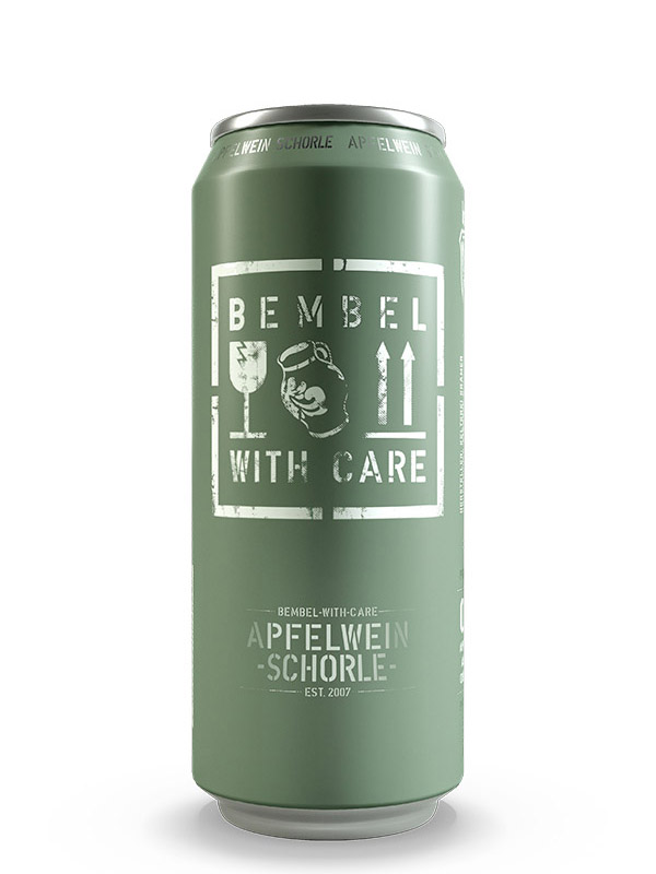Bembel With Care Apfelwein Schorle