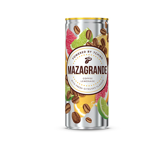 MAZAGRANDE with Fresh Citruses Flavour