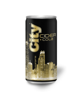 CITY CIDER & COLA